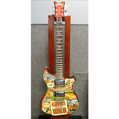 "Schecter Guitar Research GGW ""Girls Gone Wild"" Solid Body Electric Guitar"