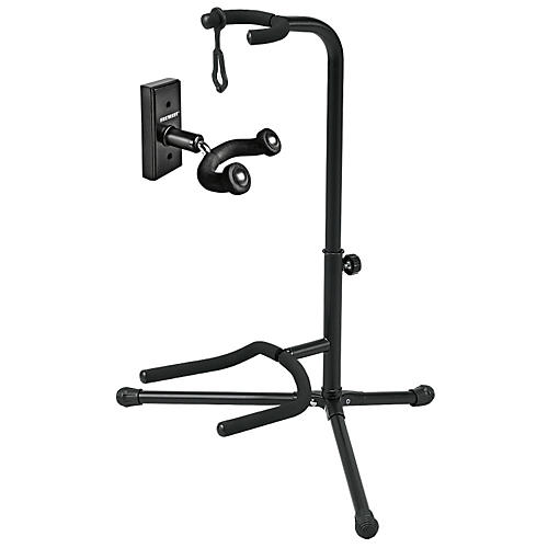 Proline GH1 Guitar Wall Hanger and GS5 Guitar Stand Package