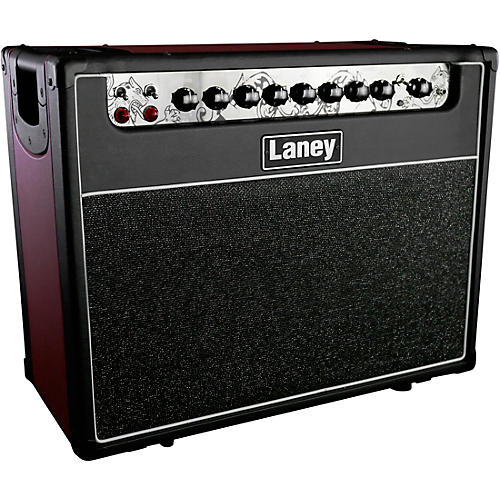 Laney GH30R-112 30W 1x12 Tube Guitar Combo Amp Condition 1 - Mint Black and Red