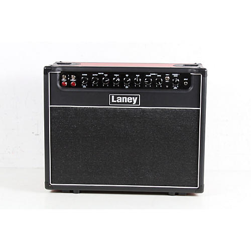 Laney GH30R-112 30W 1x12 Tube Guitar Combo Amp Condition 3 - Scratch and Dent Black and Red 194744346583
