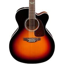 Open BoxTakamine GJ72CE-12 G Series Jumbo Cutaway 12-String Acoustic-Electric Guitar