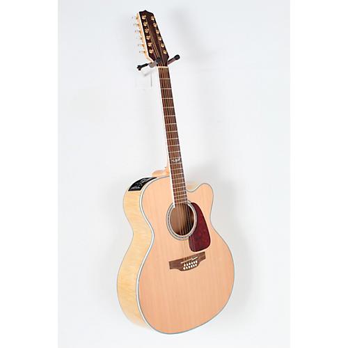 open box takamine gj72ce 12 g series jumbo cutaway 12 string acoustic electric guitar musician. Black Bedroom Furniture Sets. Home Design Ideas