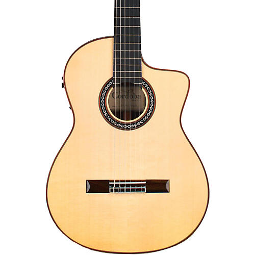 Cordoba GK Pro Negra Acoustic-Electric Guitar Condition 1 - Mint