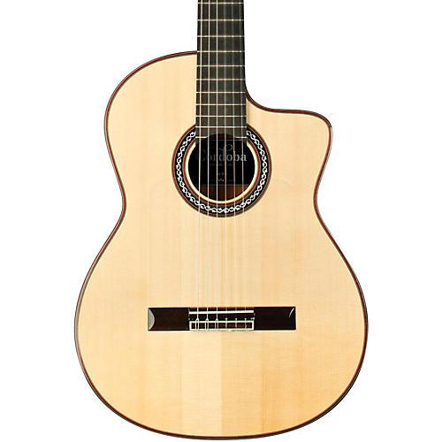 Cordoba GK Pro Nylon Flamenco Acoustic Electric Guitar