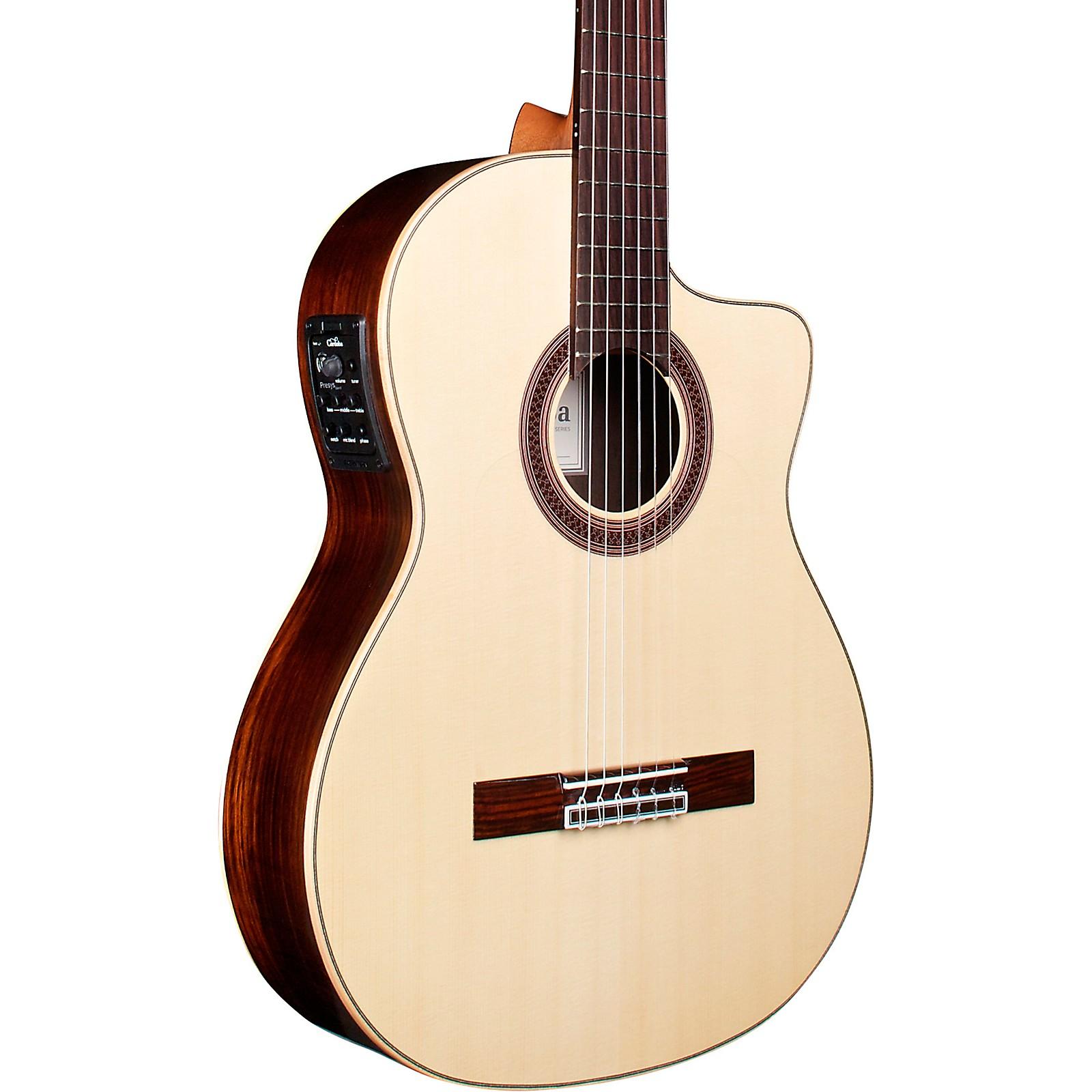 Cordoba GK Studio Negra Classical Acoustic-Electric Guitar