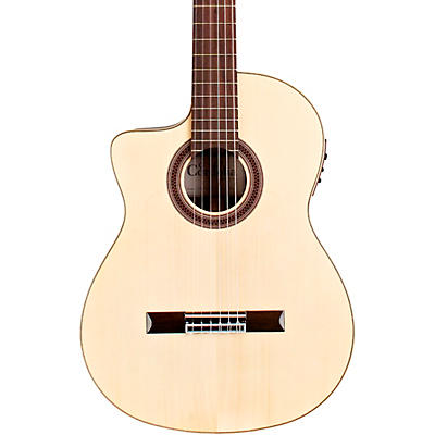 Cordoba GK Studio Negra Left-Handed Flamenco Acoustic-Electric Guitar