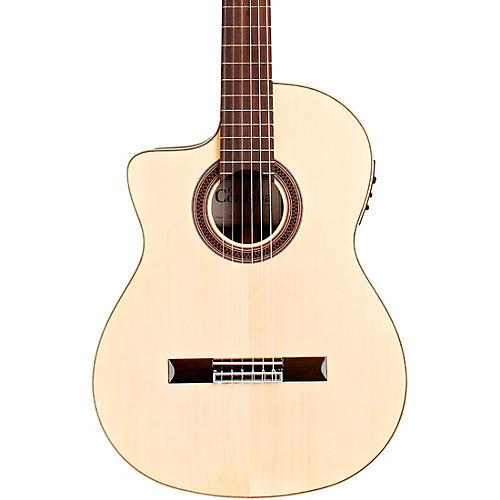 Cordoba GK Studio Negra Left-Handed Flamenco Acoustic-Electric Guitar Natural