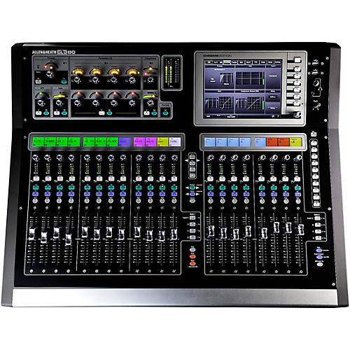 allen heath gld 80 chrome edition compact digital mixer musician 39 s friend. Black Bedroom Furniture Sets. Home Design Ideas