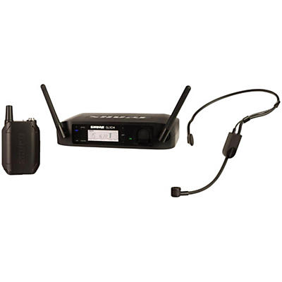 Shure GLX-D Digital Wireless Headset System with PGA31 Headset Microphone