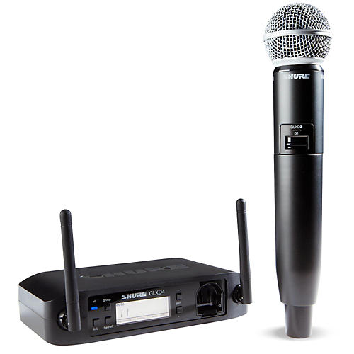 Shure GLX-D Wireless Vocal System with SM58 Mic Z2