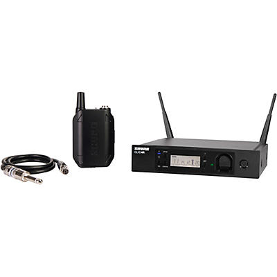 Shure GLXD14R Advanced Guitar Wireless System with GLXD4R Rackmountable Receiver