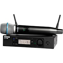Open Box Shure GLXD24R/B87A Advanced Wireless System with BETA87A Microphone