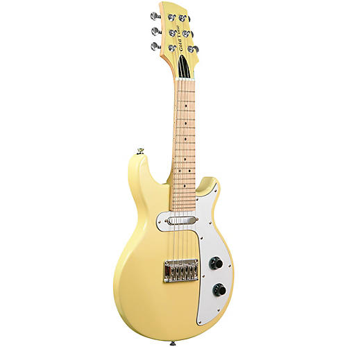 Gold Tone GME-6/L Electric Solidbody 6-String Guitar Mandolin For Left Hand Players Cream Gloss