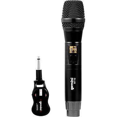 Gemini GMU-M100 Single HandHeld Wireless UHF Microphone System