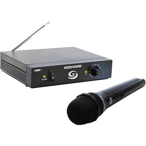 Gem Sound GMW-1 Single-Channel Wireless Mic System C-Band