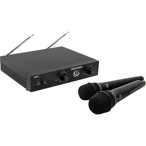 Gem Sound GMW-2 Dual-Channel Wireless Mic System CD