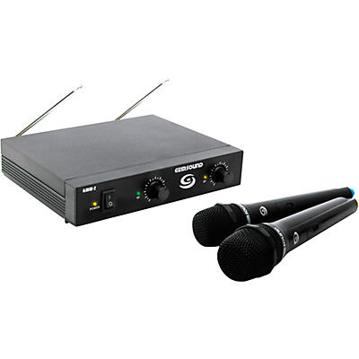 Gem Sound GMW2 Dual-Channel Wireless Mic System