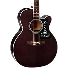 GN75CE Acoustic-Electric guitar Transparent Black