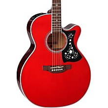 GN75CE Acoustic-Electric guitar Wine Red