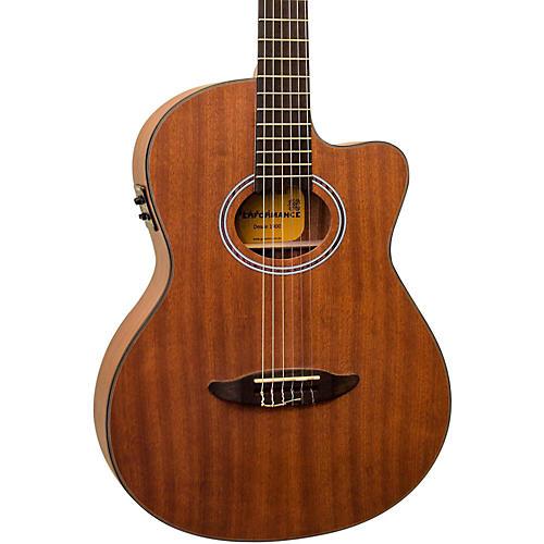 giannini gnf 8r ceq cutaway nylon string acoustic electric guitar musician 39 s friend. Black Bedroom Furniture Sets. Home Design Ideas