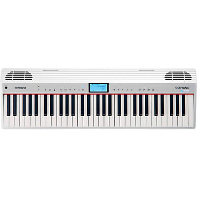 Roland GO:PIANO 61-Key Portable Keyboard With Alexa Built-in