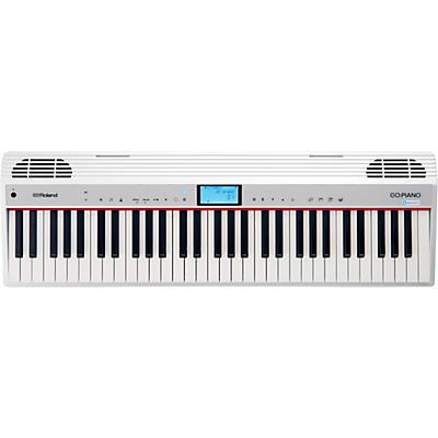 Roland GO:PIANO 61-Key Portable Keyboard With Alexa Built-in