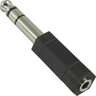 "Hosa GPM-103 Stereo Mini Female-Stereo 1/4"" Male Adapter"