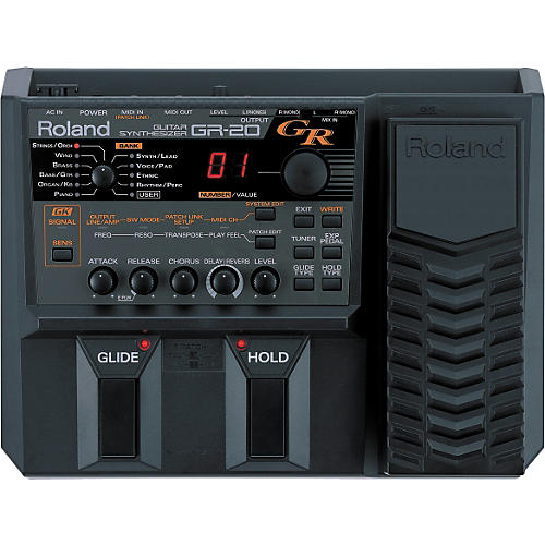 Roland GR-20 Guitar Synthesizer with GK-3 Divided Pickup