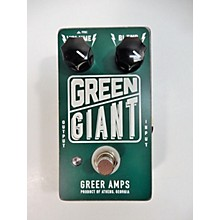 Greer Amplification GREEN GIANT Effect Pedal