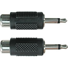 "Hosa GRM-114 RCA Female to Mono 1/8"" Adapter"