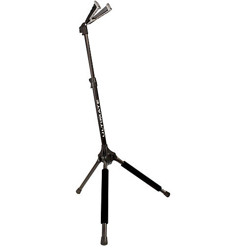 Ultimate Support GS-1000 Genesis Guitar Stand With Self-Closing Yoke Black