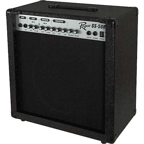 rogue gs 50r 1x12 50w guitar combo silver musician 39 s friend. Black Bedroom Furniture Sets. Home Design Ideas