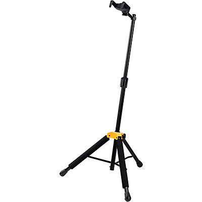 Hercules GS415BPLUS Universal Auto Grip Guitar Stand with Foldable Yoke