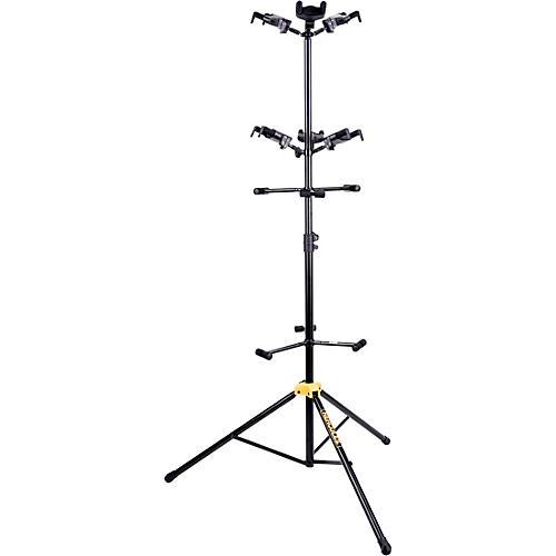 Hercules GS526BPLUS Universal 6-Piece Guitar Auto Grip Display Stand