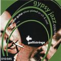 Galli Strings GSL10 GYPSY JAZZ Silver Plated Silk and Steel Light Acoustic Guitar Strings thumbnail