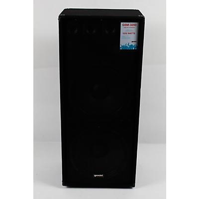 """Gemini GSM-3250 Dual 15"""" PA Speaker"""