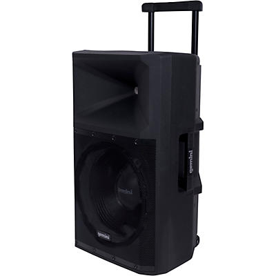 Gemini GSP-2200 15 in. Active Powered Loudspeaker With Bluetooth