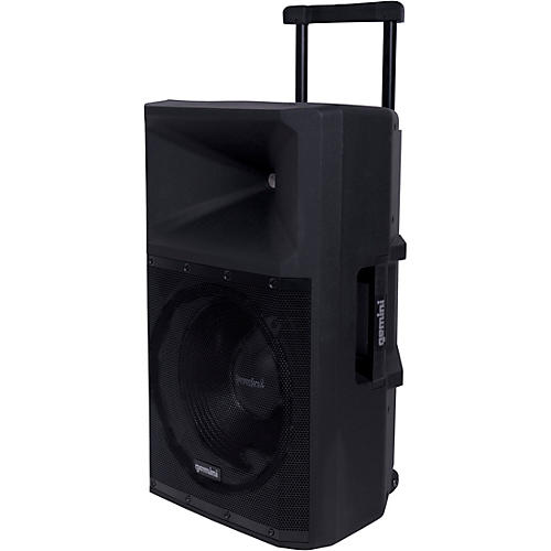 Gemini GSP-2200 15 in. Active Powered Loudspeaker With Bluetooth