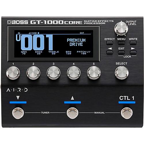 Boss GT-1000CORE Multi-Effects Processor Black