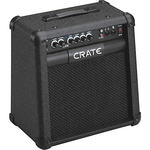 crate gt15 15w 1x8 guitar combo musician 39 s friend. Black Bedroom Furniture Sets. Home Design Ideas