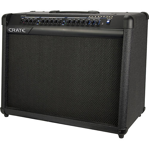 crate gtd120 guitar amplifier musician 39 s friend. Black Bedroom Furniture Sets. Home Design Ideas