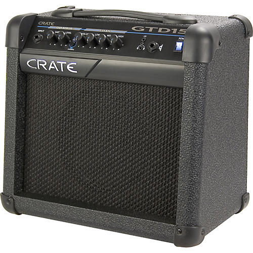 crate gtd15 guitar amplifier musician 39 s friend. Black Bedroom Furniture Sets. Home Design Ideas