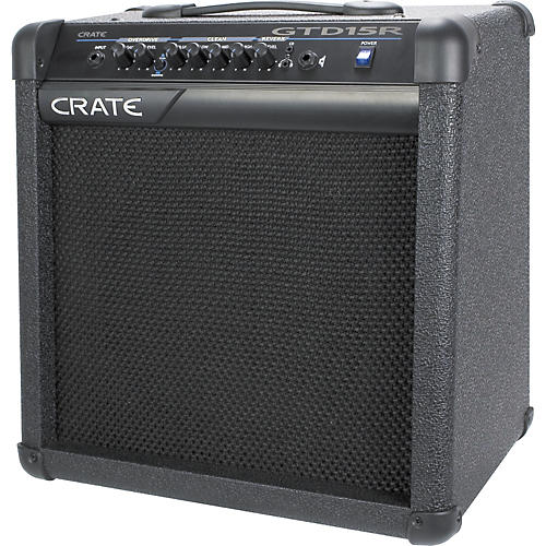 crate gtd15r guitar amplifier with reverb musician 39 s friend. Black Bedroom Furniture Sets. Home Design Ideas