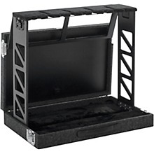 Gator GTRSTD4 Compact Rack Style Four (4) Guitar Stand that Folds Into Case