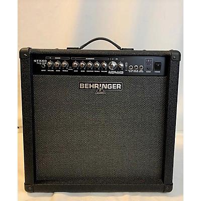 Behringer GTX 60 Guitar Combo Amp
