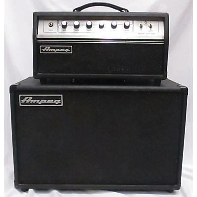 Ampeg GVT15H AND GVT112EW CAB Guitar Stack