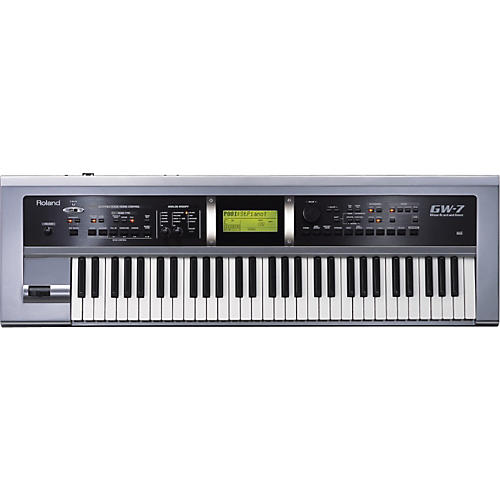 roland gw 7 keyboard synthesizer workstation musician 39 s friend. Black Bedroom Furniture Sets. Home Design Ideas