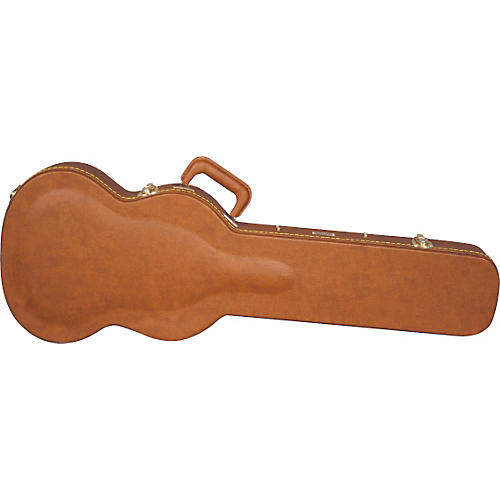 Gator GW-SGS Traditional Laminated SGS Solid Guitar Style Guitar Wood Case Brown