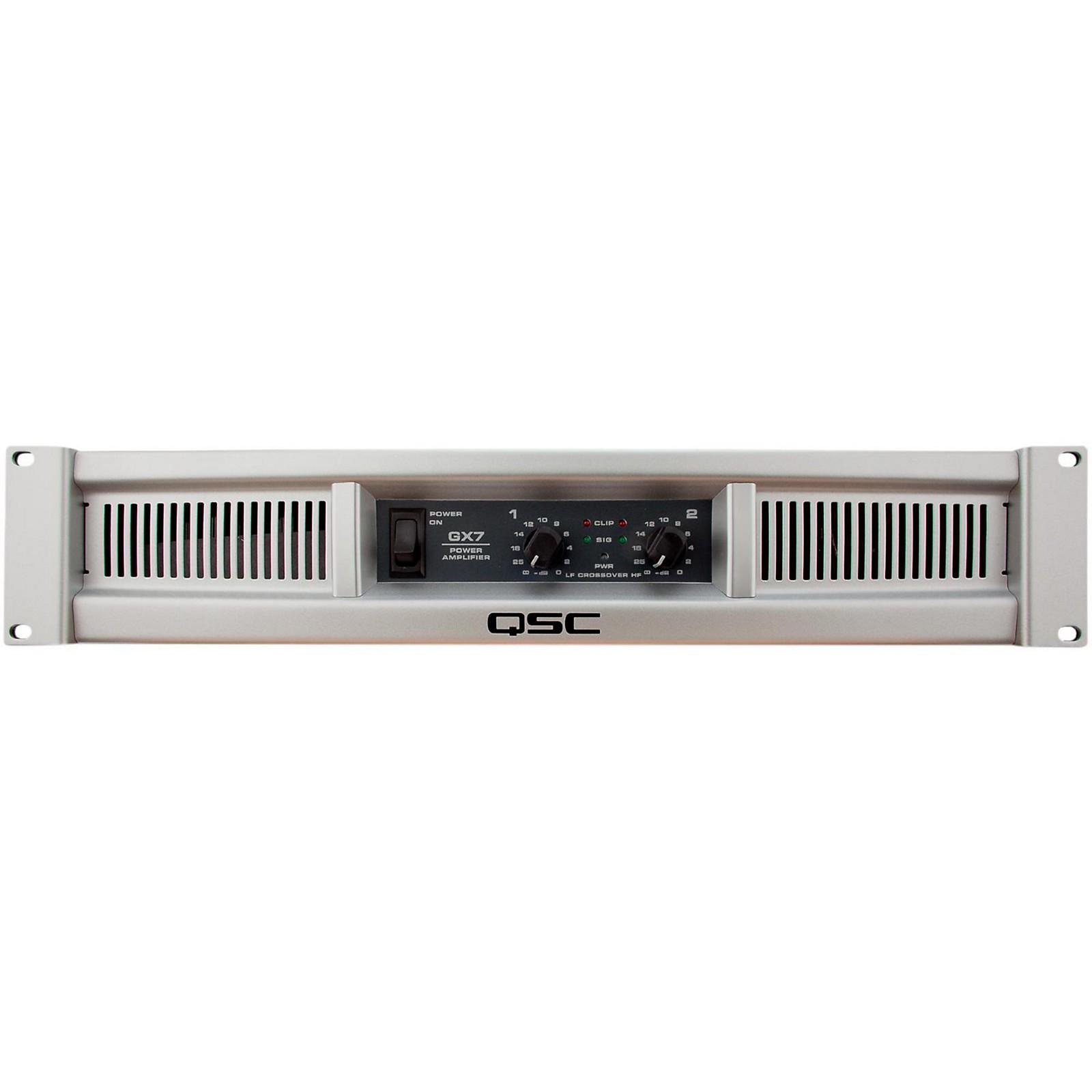 QSC GX7 Stereo Power Amplifier