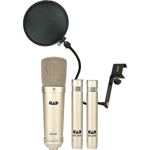 CAD GXL2200/1200 Stereo Studio Microphone Pack